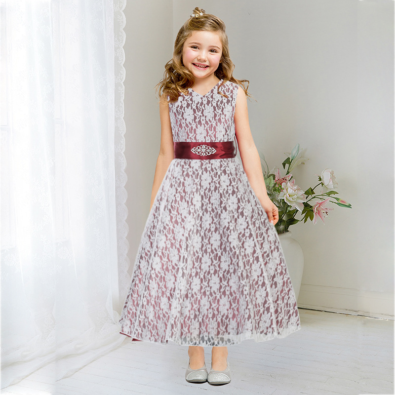 Dance party dress for children Chiffon A girl attending a dance Pretty girl  with clothes Carnival costumes Christmas party dress-in Dresses from Mother  ... 1181014ca009