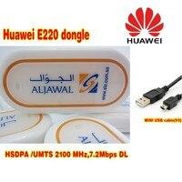 סמארטפון HUAWEI E220 מודם USB HSDPA 7.2 Mbps אלחוטי 3 גרם תמיכת אנדרואיד tablet Pc