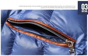 Image 5 - Vestes et manteaux dhiver pour homme, coupe vent à capuche en coton pour homme, 6XL, 7XL et 8XL, décontracté
