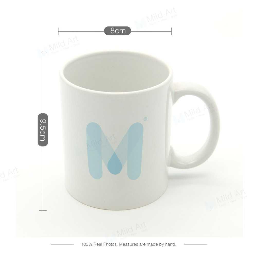 Nórdico negro blanco Kawaii tienda adorable sueño citas motivadoras cocina cerámica taza de agua creativa niños regalo tazas de té café