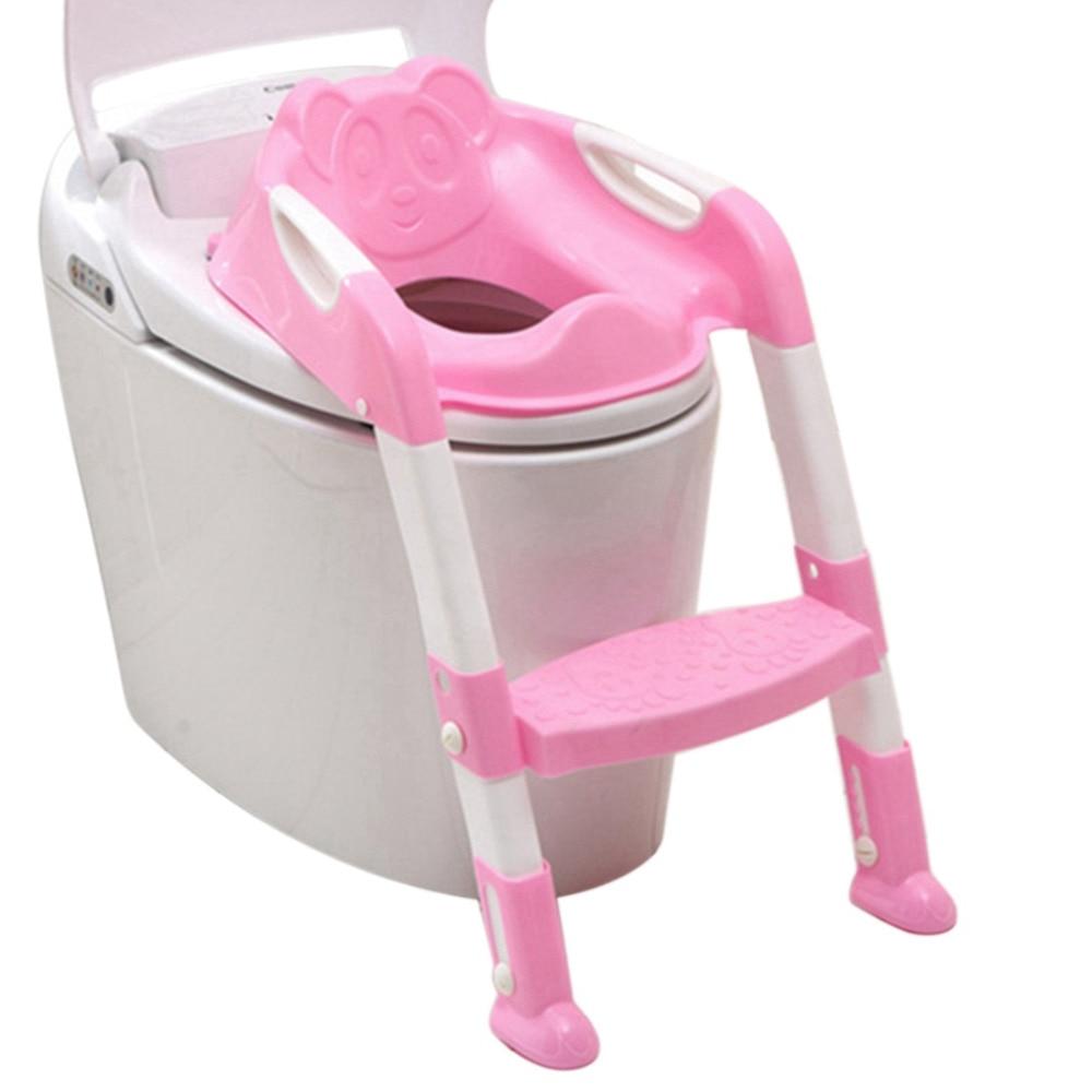 Bebé plegable Potty Training Asiento de inodoro asiento de inodoro - Pañales y entrenamiento para ir al baño - foto 1