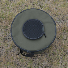 Foldable Fabric Portable Canvas circular Fish Bucket Tackle Box Water Pail for Fishing Outdoors  Fishing Bag Free shipping