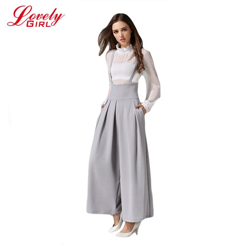 Mulheres de calças com 2016 verão tornozelo comprimento calças femininas Euro estilo senhoras de cintura alta calça calças Mujer