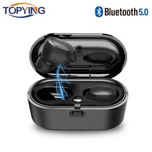 Bluetooth Headphones TWS Earbuds Wireless Bluetooth Earphones Stereo Headset Bluetooth Earphone With Mic and Charging Box for PC tws earbuds wireless headphones bluetooth earphone stereo headset earphone for phone with charging box bluetooth headphones