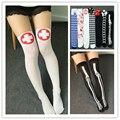 Women's halloween spirit festival cosplay knee-high long socks female Japanese horrific pattern high sock lady's colorful sock
