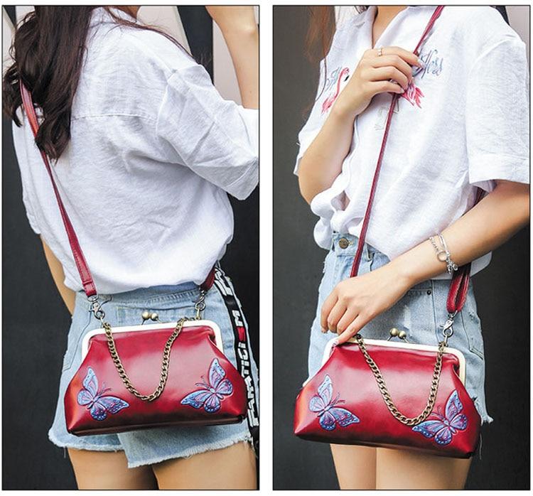 Women Handbags PU Leather Shoulder Crossbody Bags Handbag Female vintage fashion Famous Brand Women Bags (4)