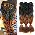 Crochet Braids Synthetic Ombre Kanekalon Braiding Hair Tresses Xpressions Kanekalon Braiding Hair Extensions Crochet Braid Hair