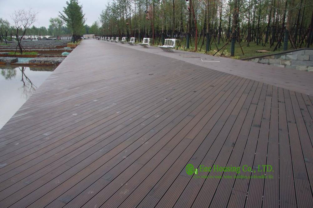 Outdoor Strand Woven Bamboo Decking