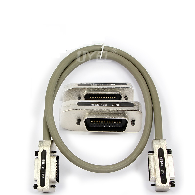 IEEE488 Cable, IEEE 488 High Speed Transmission Gpib Line IEEE-488 GPIB Bus Interface Cable Professional Custom ariva ar 488