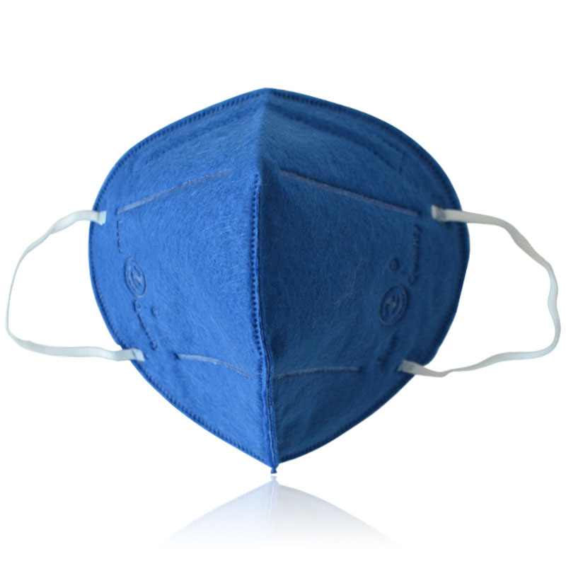 10 Pcs Dustproof Prevent Mist Forever Blue Haze Pm2.5 Mask Summer Breathable Non-woven Fabric Hanging Ear Type Folding