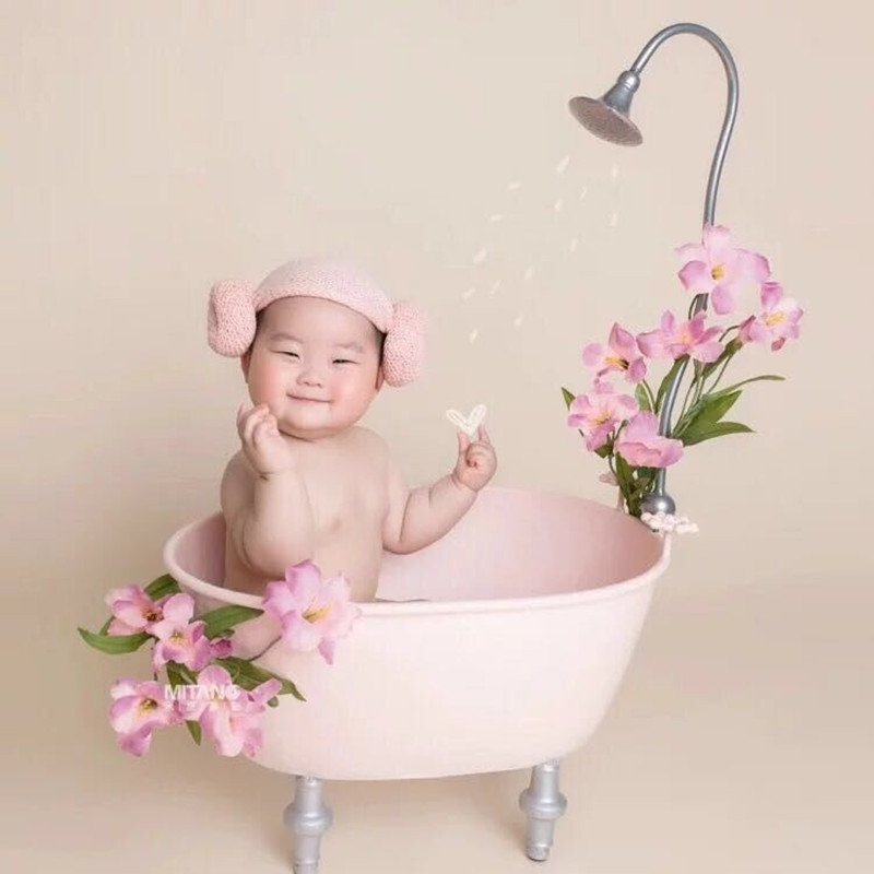 New Trend Fashion Newborn Photography Props Bathtub Cute Baby Bathtub