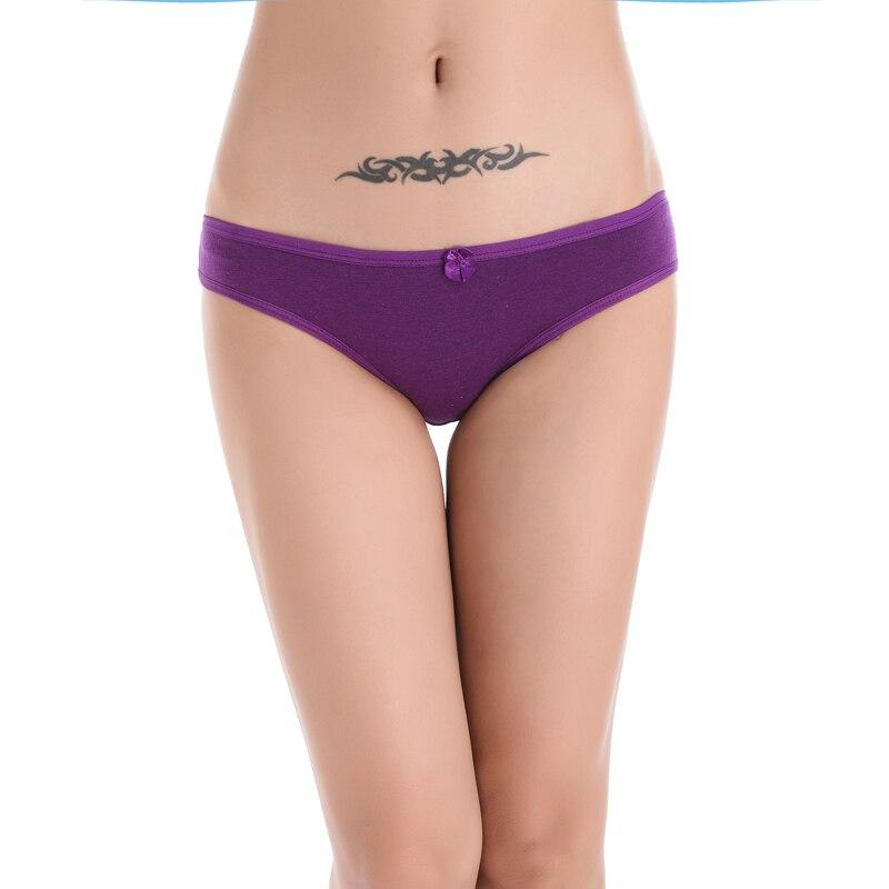 2018 Hot Sale Promotion Bow Cueca Lingerie Panties Women Women Underwear Gas Panties Wholesale Ladies Thongs Fashion Cotton
