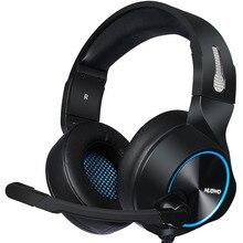 Gaming Headset 7.1 Sound Over-ear Headphone Earphone USB with Microphone Bass Stereo Laptop Computer Brand  NUBWO N11U