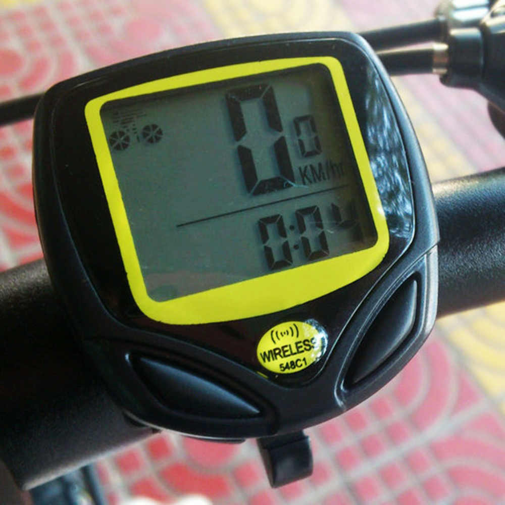 Waterproof Wireless Bicycle Cycling Sport Bike Computer Speedometer Odometer