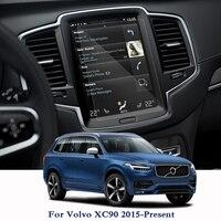 Dla Volvo XC90 2015 obecnie ekran nawigacyjny GPS folia ochronna wyświetlacz deski rozdzielczej Film wewnętrznego naklejki do samochodów w Naklejki samochodowe od Samochody i motocykle na