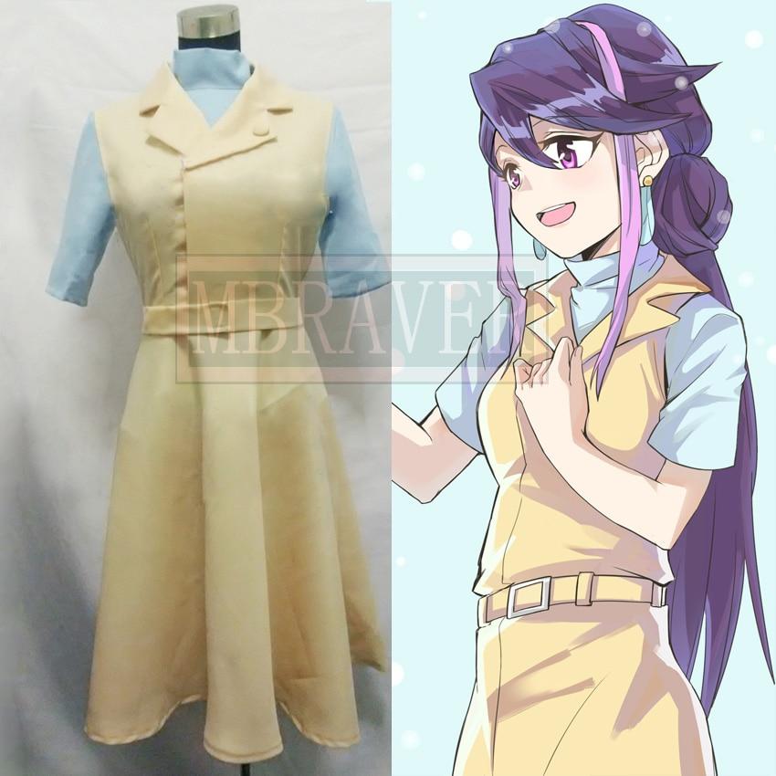 Yu-gi-oh! Costume de cosplay Yu Gi Oh Arcv Kurosaki Ruri