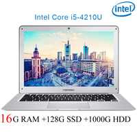 P7 08 16G RAM 128G SSD 1000G HDD i5 4210U 14 Untral thin notebook Gaming laptop desktop computer