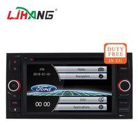 LJHANG Wince 6.0 2 Din Car dvd For Ford Mondeo S max Focus C MAX Galaxy Fiesta GPS Navi multimedia Automotive Headunit stereo FM