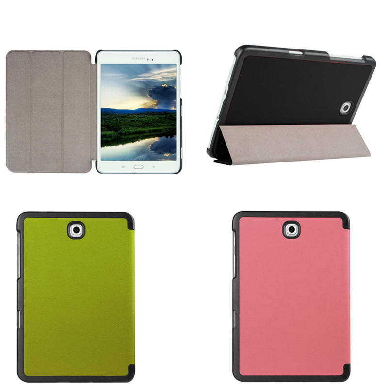 4W Flip book PU Leather stand case cover For Samsung Galaxy Tab S2 8.0 T710 SM-T715 T715 T713 T719 T719C 8'' Tablet 3 in 1 high quality business smart pu leather book cover case for samsung galaxy tab s2 t710 t715 8 0 stylus screen film