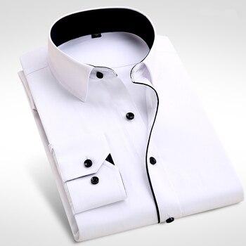 404dbf84b18 2019 marca nueva camisa de los hombres Hombre Camisas de vestir para hombre  de moda Casual