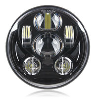 2018 New Brightest 5 3/4 5.75 Daymaker LED Headlight for Harley Davidson 883 Sportster Triple Low Rider Wide Glide Headlamp