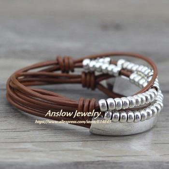 Anslow Brand Bohemian Vintage Handmade Multilayer Wrap Jewelry 5