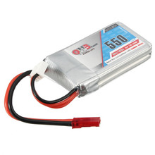 Rechargeable 550 mAh Battery for Remote Controlled Drones