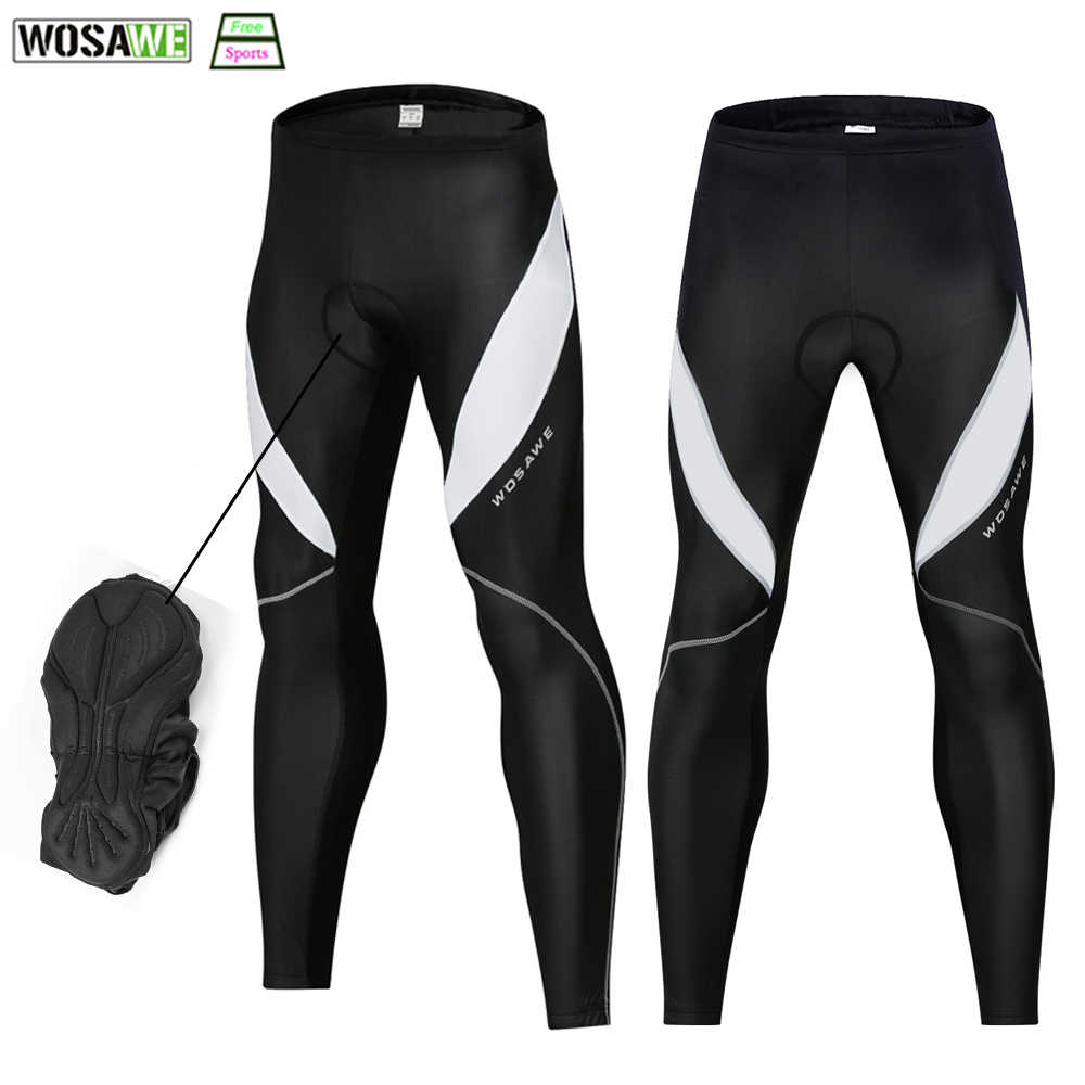 e593c07810 2019 Men's Cycling Tights Winter Thermal Cold Wear 3D gel Padded Legging  Warm Up Pro Cycling