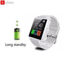 Smartwatch Bluetooth U8 Smart Watch Silicone Strap Clock Sport Bracelet Passometer Wristwatch For IOS Android Phone