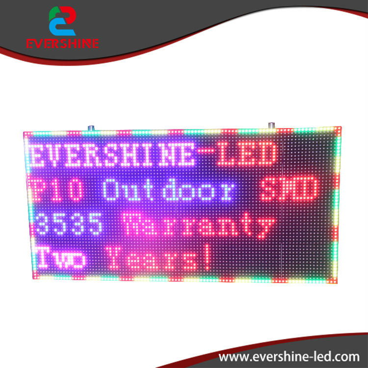 2017 New P10 full color outdoor advertising painel de led publicidade screen size 960x640mm 38 x 25.2