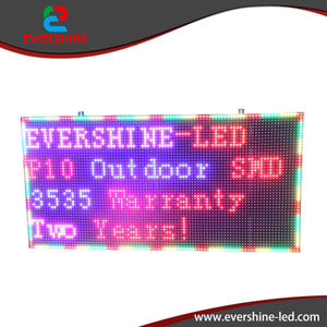 """2017 New P10 full color outdoor advertising painel de led publicidade screen size 960x640mm 38"""" x 25.2"""""""