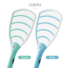 купить YAGE Electric Mosquito Swatter Mosquito Killers Pest Control Bug Zapper Reject Racket Trap Home Tool 2200V 1000 mAh Battery дешево