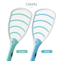 YAGE Electric Mosquito Swatter Mosquito Killers Pest Control Bug Zapper Reject Racket Trap Home Tool 2200V 1000 mAh Battery