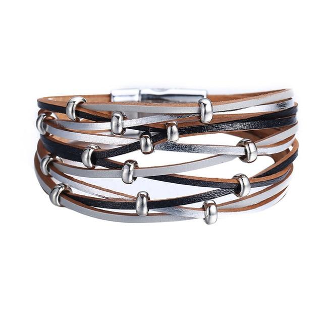 MultiLayer Leather Bracelet...