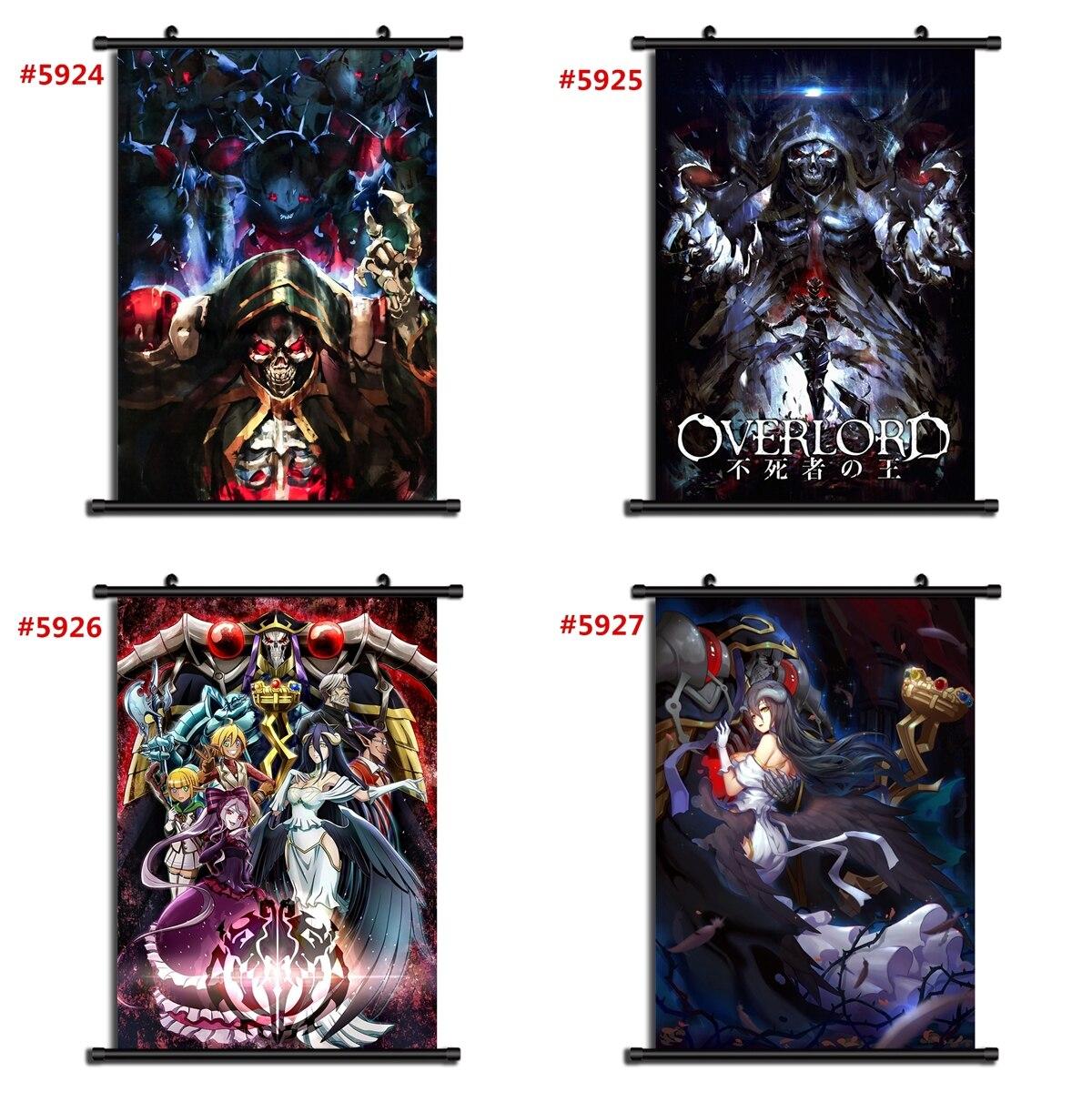 Ainz Ooal Gown Momonga Overlord Anime Skull Decal Sticker Waterproof