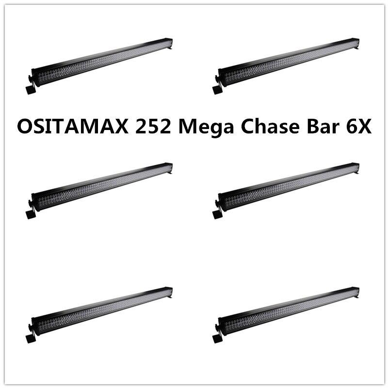 6 pçs/lote 252 10mm mini leds IP33 Lavagem Efeito Linear Bar Latas RGB color display lcd bar da arruela da parede