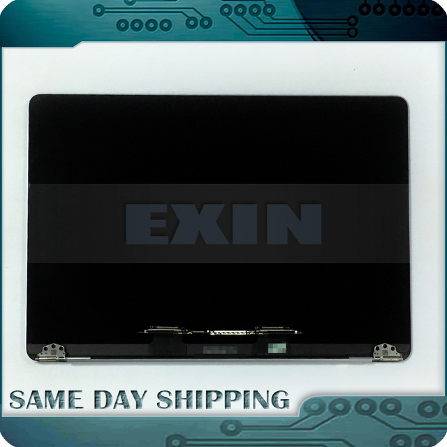 """Laptop Silver Space Grey 13 A1706 A1708 LCD Screen Display Assembly for Macbook Retina 13"""" Full Complete LCD 2016 2017 Year"""