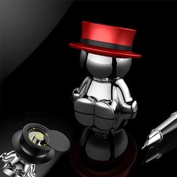 Novel Car Crafts Phone Holder Hat-men Mobile Phone Stand Multi-functional Creative Mobile Accessory DJ003 2