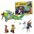 BELA 10429 Compatible Lepin Scooby Doo Mystery Plane Adventures 75901 Building Blocks Bricks Toys For Children