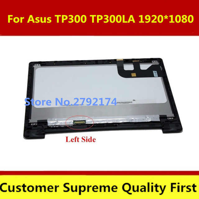 Original 13.3 ''HB133WX1-402 N133HSE LCD panneau d'affichage et écran tactile assemblée avec cadre pour Asus TP300 TP300L TP300LA TP300LD