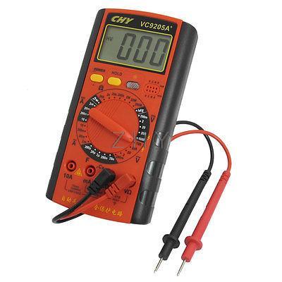Pink AC DC Present Ammeter Ohmmeter Capacitance Testing Digital Multimeter