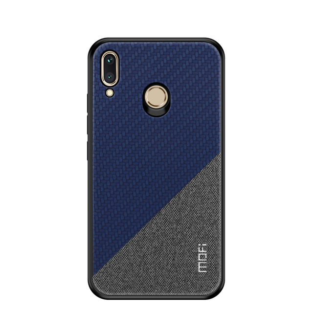 MOFi Huawei Honor Play Luxury Fabric Dual Tone Back Case Cover