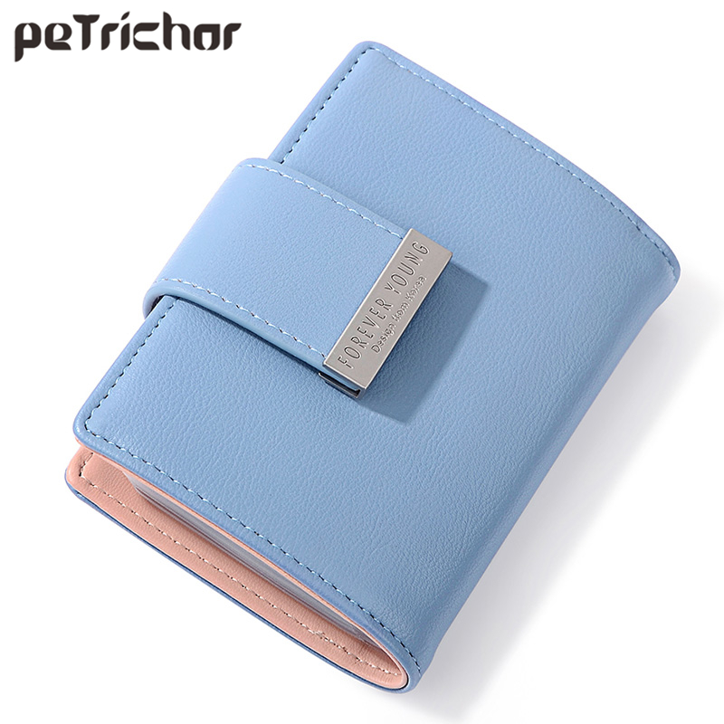 Fashion 20 Slots Women Card & ID Holders Soft Leather Ladies Small Credit Card Case Female Business Card Cover Pocket Mini Style