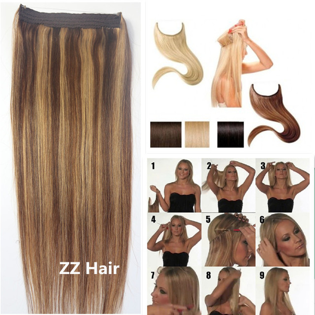 #4/27 70g 80g 100g 120g 140g 160g Grosso Extensão Do Cabelo humano remy Brasileiro extensões do cabelo Da Aleta Na Extensão Do Cabelo Humano