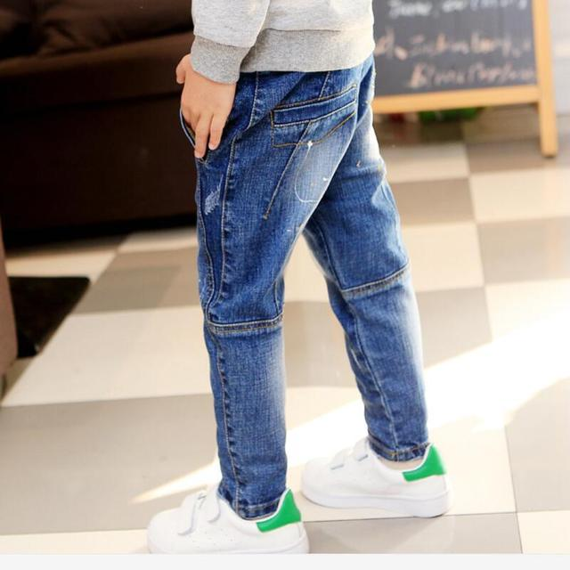 new Spring Autumn new boys jeans Kids  fashion Children jean  boys wild jeans Trousers free shipping