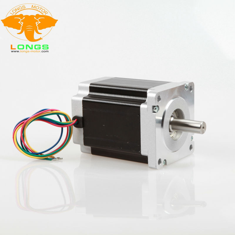 EU Free ship[3 8days ship] 1 PCS Nema 34 Stepper Motor 34HS9456 1062 oz.in 5.6A 98mm 4leads CNC Router XYZ AXIS-in Stepper Motor from Home Improvement    1