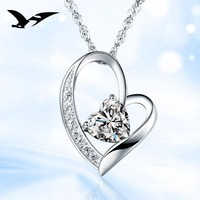 925 silver necklace Japan and South Korea fashion female models pendants silver jewelry accessories couple honey hot wholesale