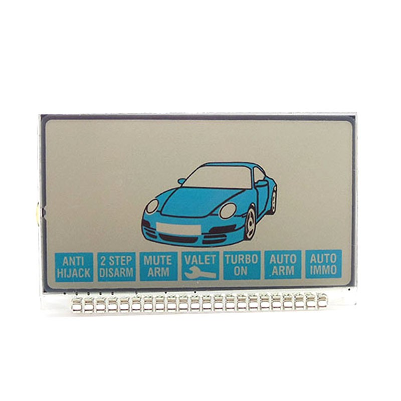 Russian Version EZ-GAMMA Lcd Display For Jaguar EZ-GAMMA Lcd Remote Two Way Car Alarm System