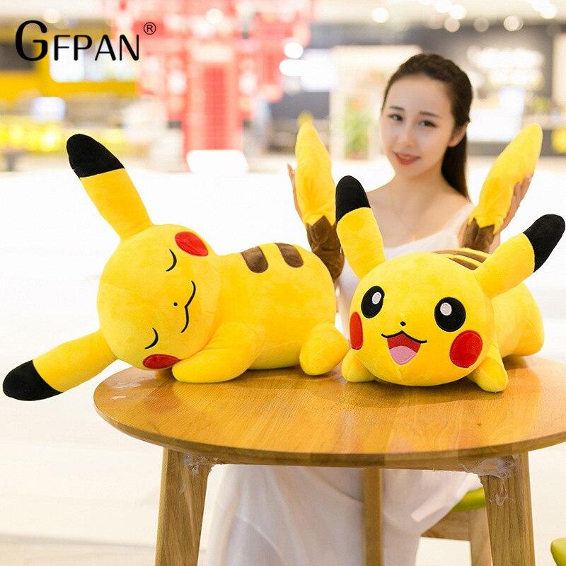 1pc 25/40cm High Quality Kawaii Pikachu Plush Toys Cute Stuffed Animal Dolls  Movie Tv Doll Christmas Birhday Gift For Kids