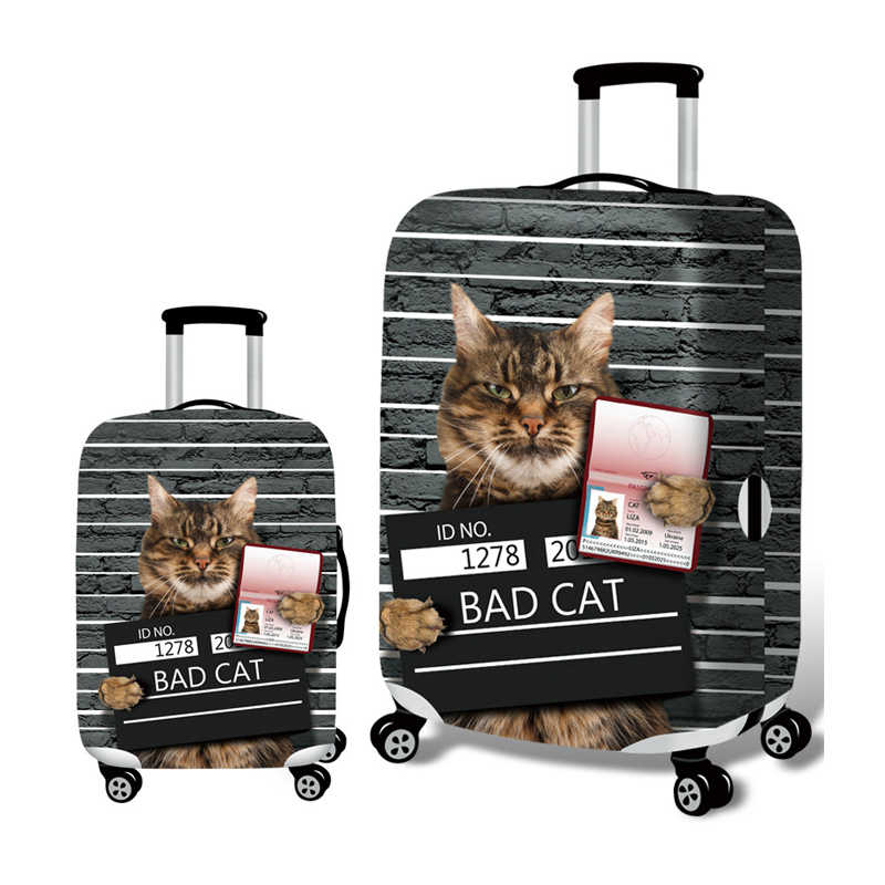 Fashion  Elastic Travel Suitcase Protective Cover Baggage Case Covers For 18-32 Inch Dust Protection Trolley Travel Accessories
